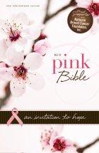 NIV pink Bible cover