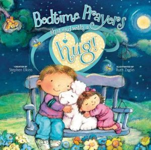 Bedtime prayers that end with hug cover