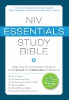 NIV essentials study bible cover