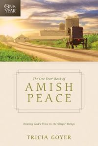 The one  year book of Amish peace cover
