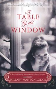 a table by the window cover