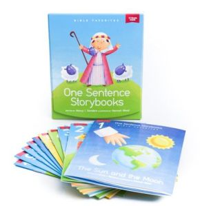 one sentence storybooks cover