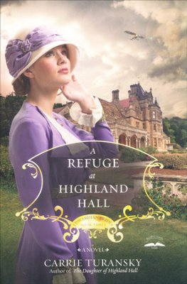 a refuge at highland hall cover