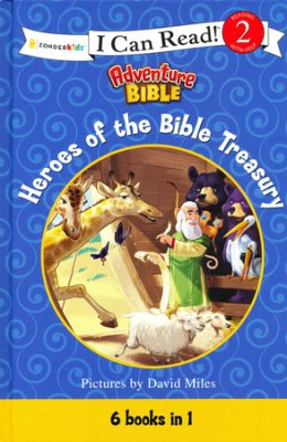 Heroes of the Bible Treasury cover